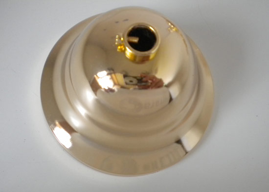 Dettagli su Rosone Coprifilo Liscio da Soffitto Oro Lucido
