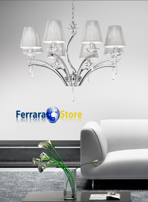 90.201 - Lampadari moderni e classici / Ferrara Store Illuminazione ...