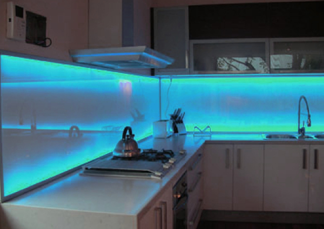 Faretti Per Cucina Led. Interesting Lampadari A Led Per Cucina ...