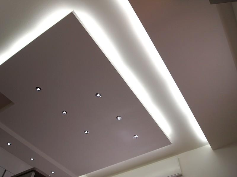 Luci led controsoffitto uv55 regardsdefemmes for Led controsoffitto