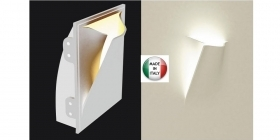 Applique in gesso a parete led